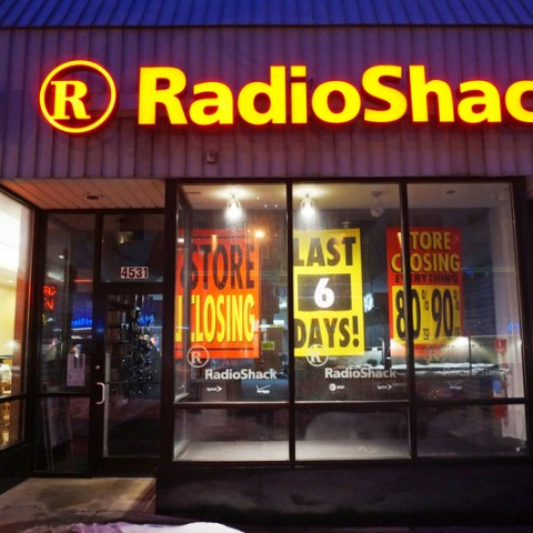Radio Shack closing nearly 200 stores this week