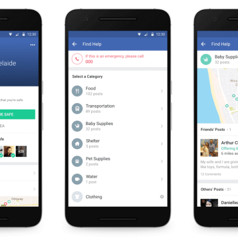 New Facebook feature allows users to ask for and provide help during a crisis