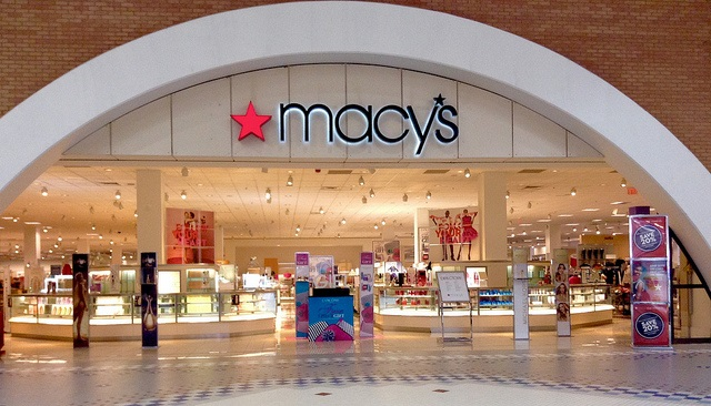 Macy's store entrance