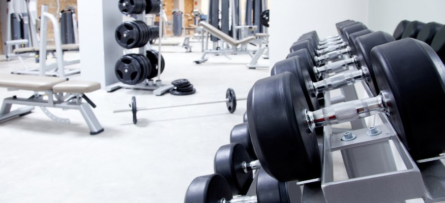 One type of gym equipment is 362 times dirtier than a toilet seat