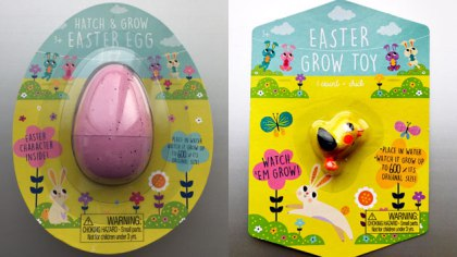 Easter egg toy recall