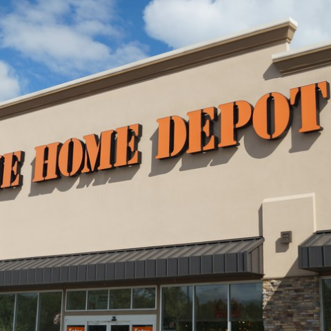 Home Depot storefront
