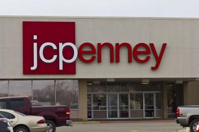 JC Penney storefront