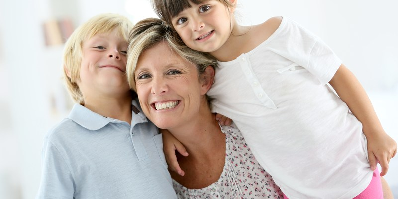 Stay-at-home mom (SAHM) with two children