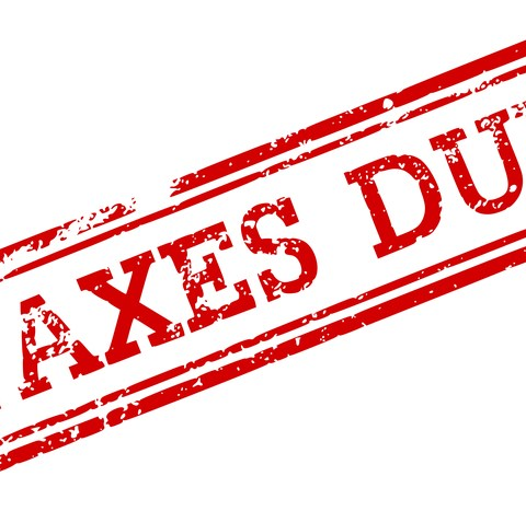 taxes due logo