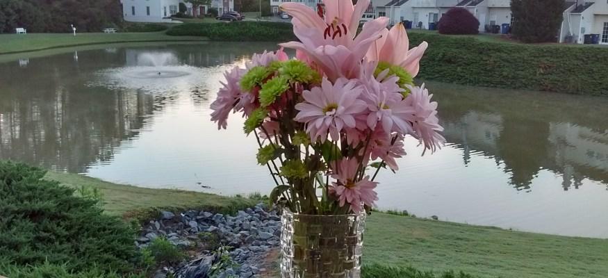 Aldi floral bouquet