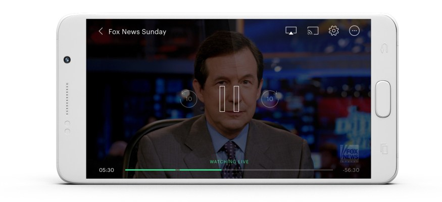 Hulu live TV on phone