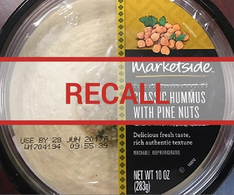 3 brands of hummus recalled over listeria fears