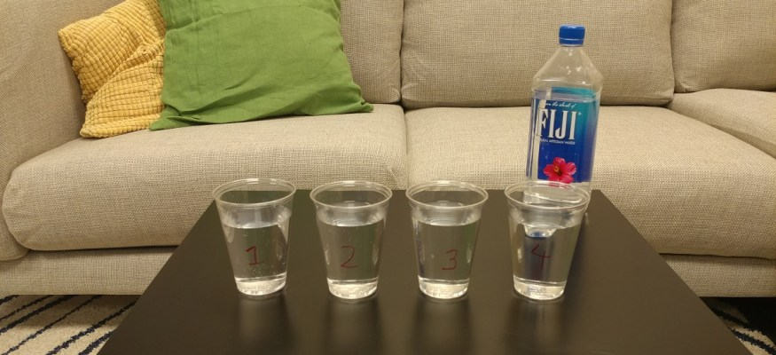 Taste test: Can you tell the difference between fancy bottled water and tap water?