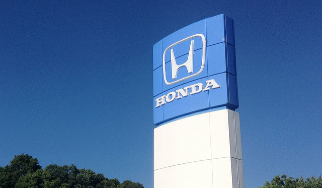 Honda sign