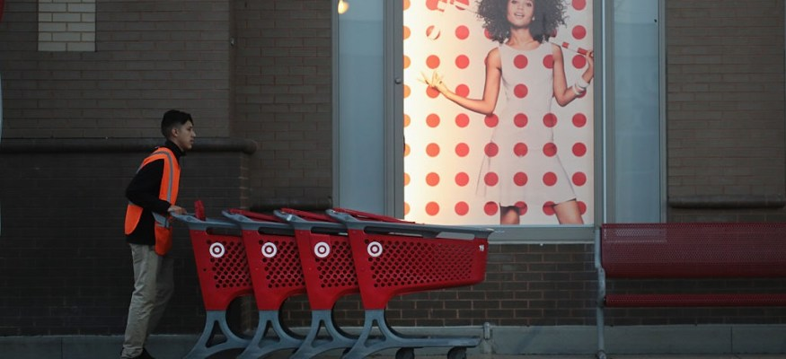 Target says shoppers are finally coming back
