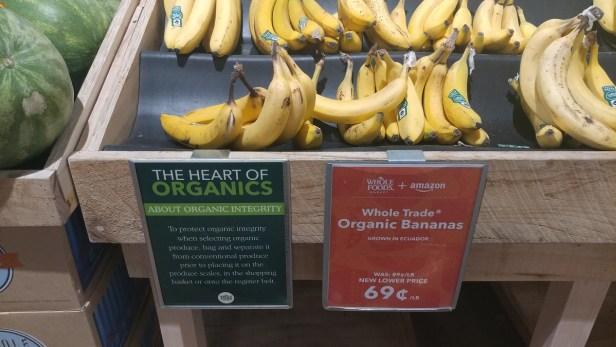 Whole Trade bananas new price