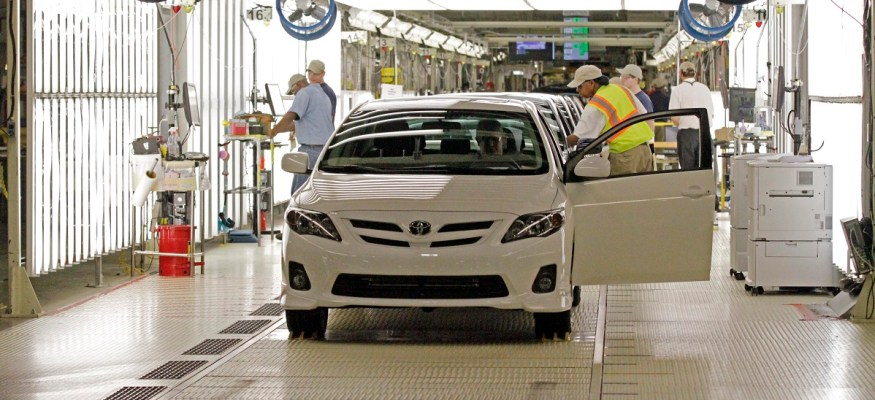 Toyota and Mazda to build $1.6 billion factory in the U.S.