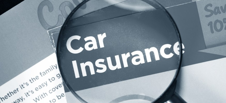 car insurance magnifying glass