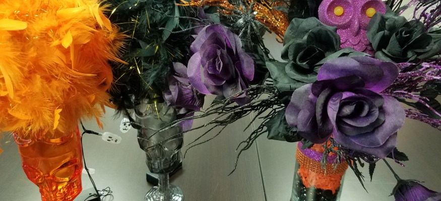 DIY dollar store Halloween decorating made easy!