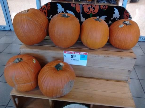 Publix Halloween pumpkins