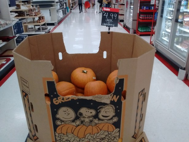 Target pumpkins