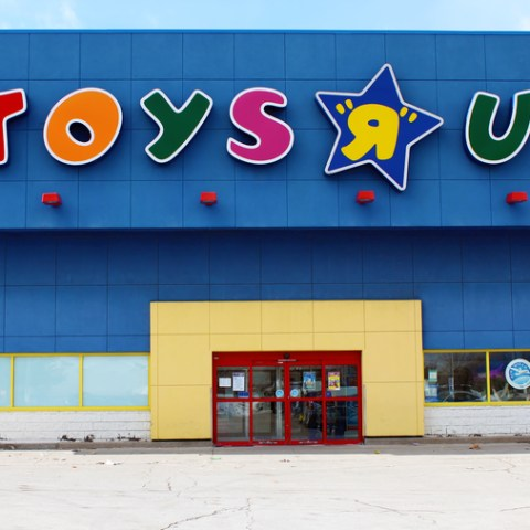 Toys R Us store in Toronto, Canada.