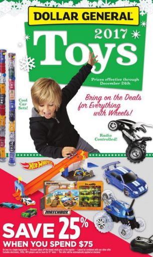 Dollar General toy catalog 2017