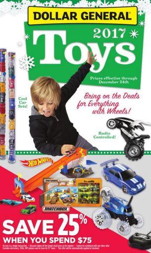 Dollar General toy catalog 2017