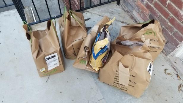 AmazonFresh delivery