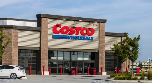 Costco Wholesale entrance via Dreamstime