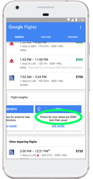 Google Flights tips