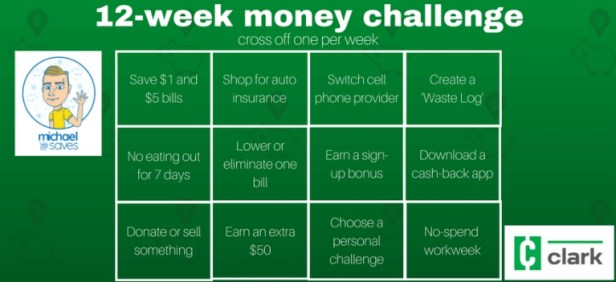 12-week money challenge