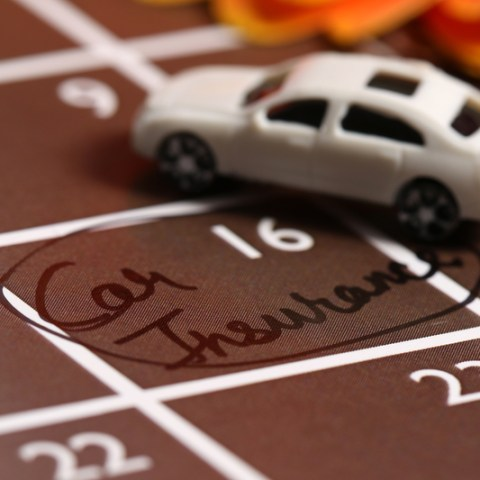car insurance via dreamstime