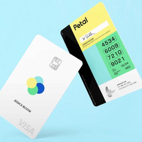 Petal Visa credit card
