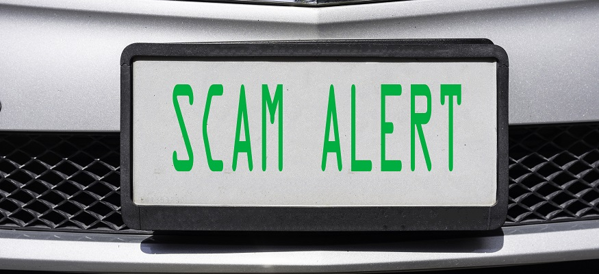 Warning: What you need to know about the so-called 'license plate scam'