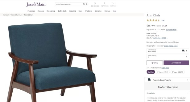 Warning Retailers Selling Identical Furniture Under Different Names