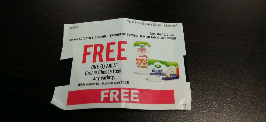 Isn't it great when something free just falls into your lap?