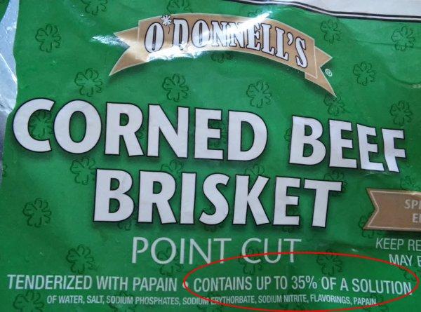 corned beef brisket point cut