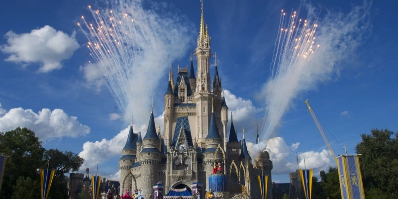 disney magic kingdom castle