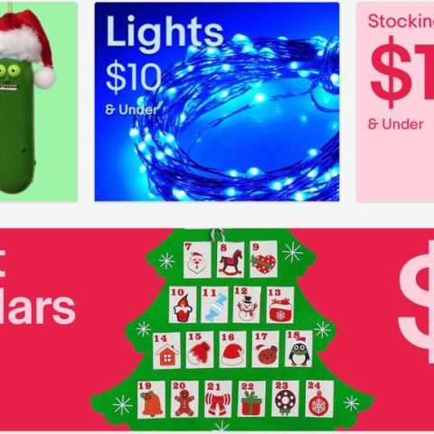 ebay $10 holiday storefront