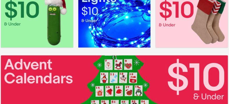 ebay $10 holiday storefront
