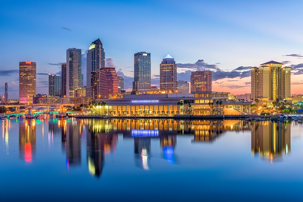 Waterfront in Tampa, Florida