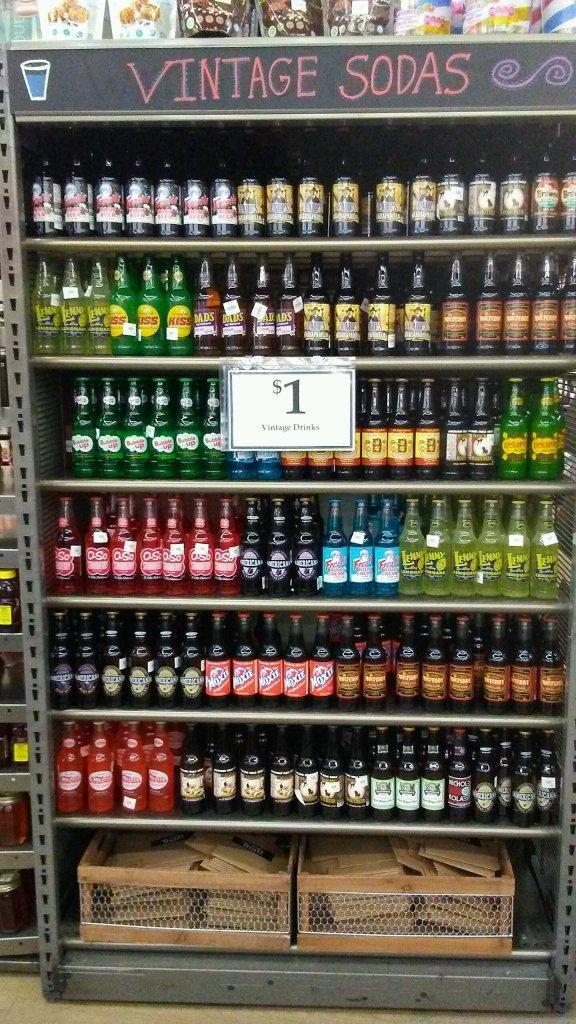$1 vintage sodas