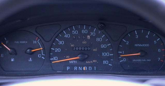 Most miles on a toyota