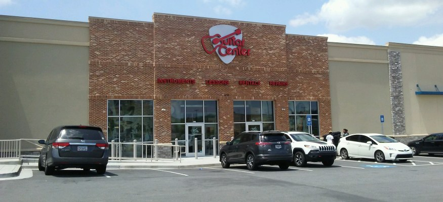Guitar Center Kennesaw storefront