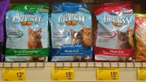 blue cat litter