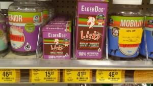 elderdog licks