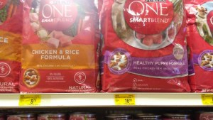 purina one puppy chow