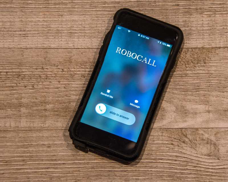 How to stop robocalls on iphone