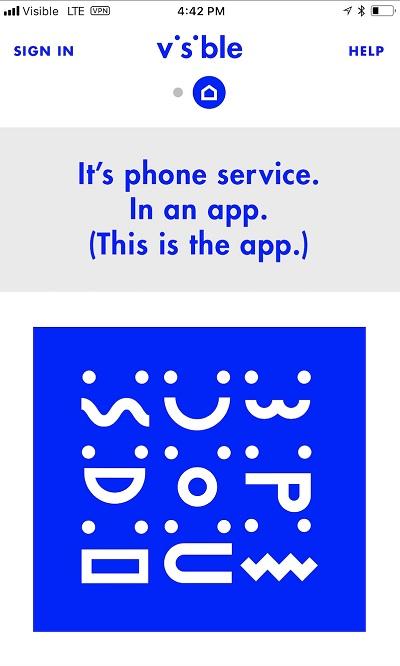 Visible app