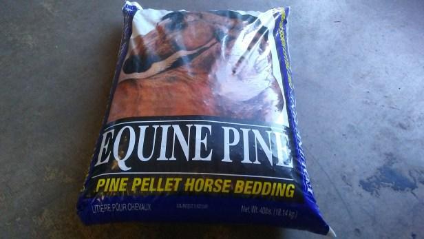 pine pellet horse bedding