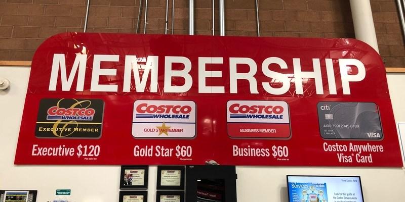 COSTCO CARD PRICE