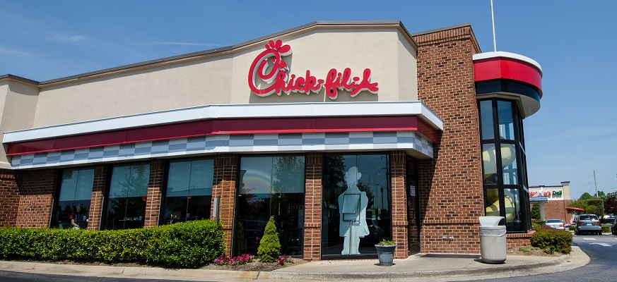 Chick-fil-a storefront