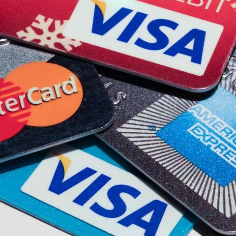 Credit cards stack